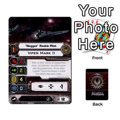 Bsg Attack Wing By Michael   Playing Cards 54 Designs   Be3ef55tvyg5   Www Artscow Com Front - Club5
