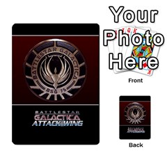 Bsg Attack Wing By Michael   Playing Cards 54 Designs   Be3ef55tvyg5   Www Artscow Com Back