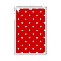 White Stars On Red Apple Ipad Mini 2 Case (white) by StuffOrSomething