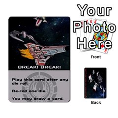 Queen Battlestars Vs Basestars Human Deck By Michael   Playing Cards 54 Designs   Mhk8m3nxjvgr   Www Artscow Com Front - SpadeQ