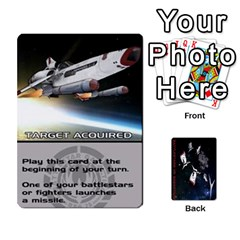 Battlestars Vs Basestars Human Deck By Michael   Playing Cards 54 Designs   Mhk8m3nxjvgr   Www Artscow Com Front - Club10