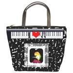 Music bucket bag