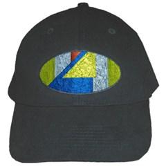 Abstract Black Baseball Cap by Siebenhuehner