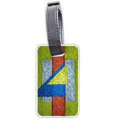 Abstract Luggage Tag (two Sides) by Siebenhuehner