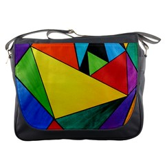 Abstract Messenger Bag by Siebenhuehner