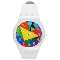 Abstract Plastic Sport Watch (medium) by Siebenhuehner