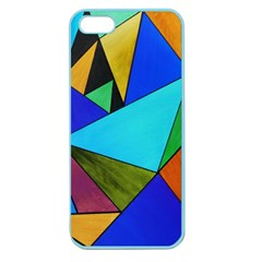 Abstract Apple Seamless Iphone 5 Case (color) by Siebenhuehner