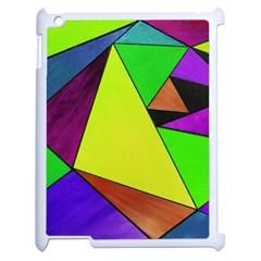 Abstract Apple Ipad 2 Case (white) by Siebenhuehner