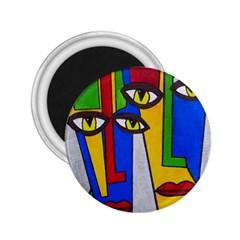 Face 2 25  Button Magnet by Siebenhuehner