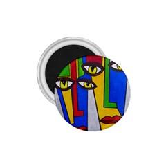 Face 1 75  Button Magnet by Siebenhuehner