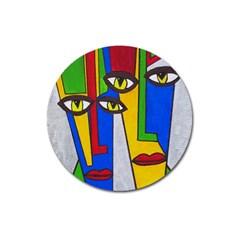 Face Magnet 3  (round) by Siebenhuehner