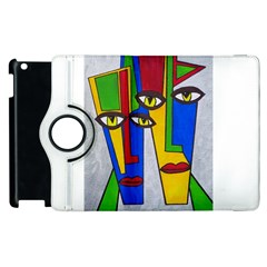 Face Apple Ipad 2 Flip 360 Case by Siebenhuehner