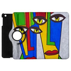 Face Apple Ipad Mini Flip 360 Case by Siebenhuehner