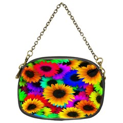 Colorful Sunflowers Chain Purse (one Side) by StuffOrSomething