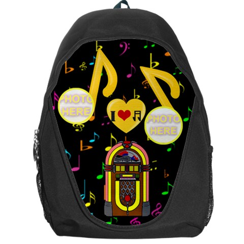 Music Backpack Bag By Joy Johns   Backpack Bag   Djvulmgwphyr   Www Artscow Com Front