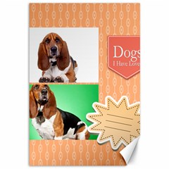 Pet By Pet    Canvas 12  X 18    Uicih64gi6ow   Www Artscow Com 18 x12 Canvas - 2