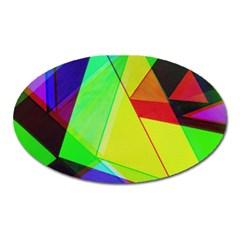 Moderne Magnet (oval) by Siebenhuehner
