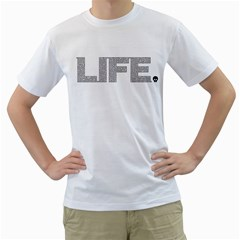 Life is Amazing Men s T-Shirt (White)  by Contest1884227