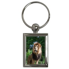 Regal Lion Key Chain (rectangle) by AnimalLover