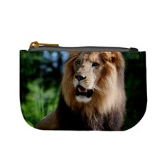 Regal Lion Coin Change Purse by AnimalLover