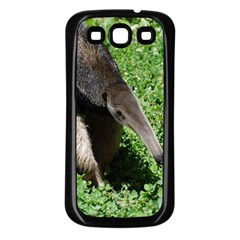 Giant Anteater Samsung Galaxy S3 Back Case (Black) by AnimalLover