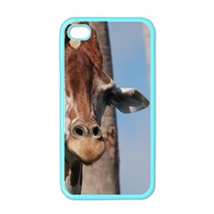 Cute Giraffe Apple iPhone 4 Case (Color) by AnimalLover