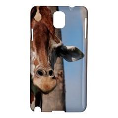 Cute Giraffe Samsung Galaxy Note 3 N9005 Hardshell Case by AnimalLover