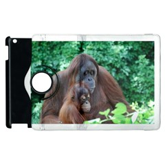 Orangutan Family Apple Ipad 3/4 Flip 360 Case by AnimalLover