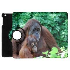 Orangutan Family Apple iPad Mini Flip 360 Case