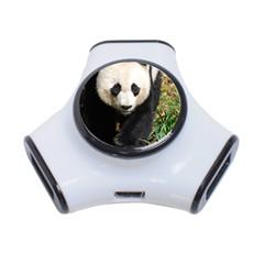 Giant Panda 3 Port Usb Hub by AnimalLover