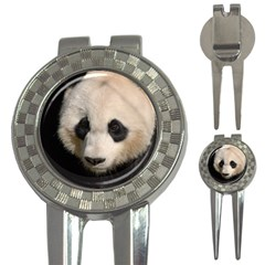 Adorable Panda Golf Pitchfork & Ball Marker by AnimalLover