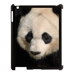 Adorable Panda Apple Ipad 3/4 Case (black) by AnimalLover