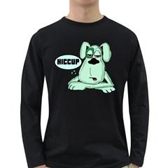 Irish Drunk Green Dog 0 Men s Long Sleeve T Shirt (dark Colored)