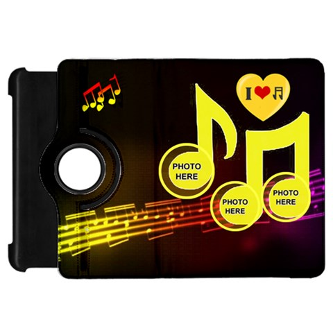 Music Kindle Flip 360 Case By Joy Johns   Kindle Fire Hd Flip 360 Case   Fyutz9o3sxeb   Www Artscow Com Front
