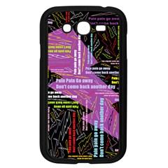 Pain Pain Go Away Samsung Galaxy Grand Duos I9082 Case (black) by FunWithFibro
