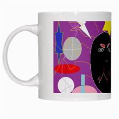 Excruciating Agony White Coffee Mug by FunWithFibro