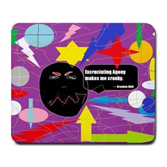Excruciating Agony Large Mouse Pad (rectangle) by FunWithFibro
