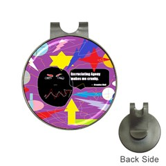 Excruciating Agony Hat Clip With Golf Ball Marker by FunWithFibro