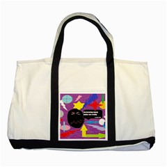 Excruciating Agony Two Toned Tote Bag by FunWithFibro