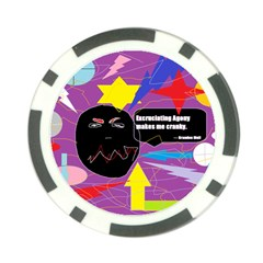 Excruciating Agony Poker Chip by FunWithFibro
