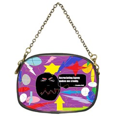 Excruciating Agony Chain Purse (two Sided)  by FunWithFibro