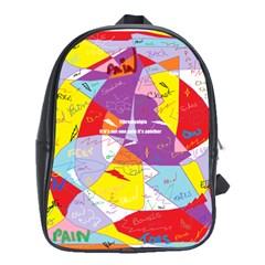 Ain t One Pain School Bag (xl) by FunWithFibro