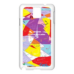 Ain t One Pain Samsung Galaxy Note 3 N9005 Case (white) by FunWithFibro