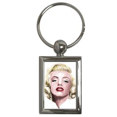 Marilyn Key Chain (rectangle) by malobishop