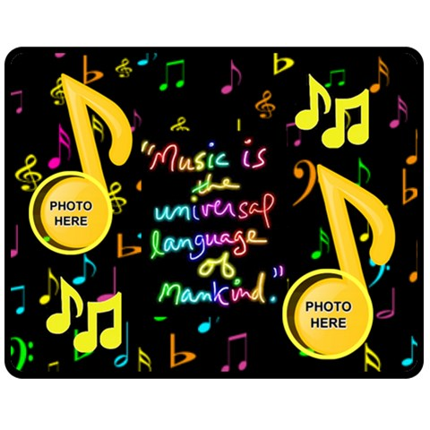 Music Medium Blanket #2 By Joy Johns   Fleece Blanket (medium)   9cs05jtyseu6   Www Artscow Com 60 x50 Blanket Front