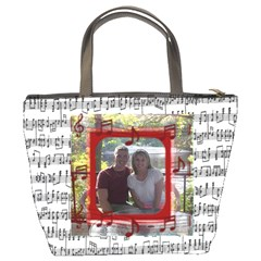 Music Bucket Bag #2 By Joy Johns   Bucket Bag   Vfplvq3tw48c   Www Artscow Com Back