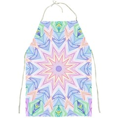 Soft Rainbow Star Mandala Apron by Zandiepants