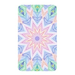 Soft Rainbow Star Mandala Memory Card Reader (Rectangular) by Zandiepants