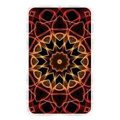 Yellow And Red Mandala Memory Card Reader (Rectangular) by Zandiepants