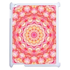 Yellow Pink Romance Apple Ipad 2 Case (white) by Zandiepants